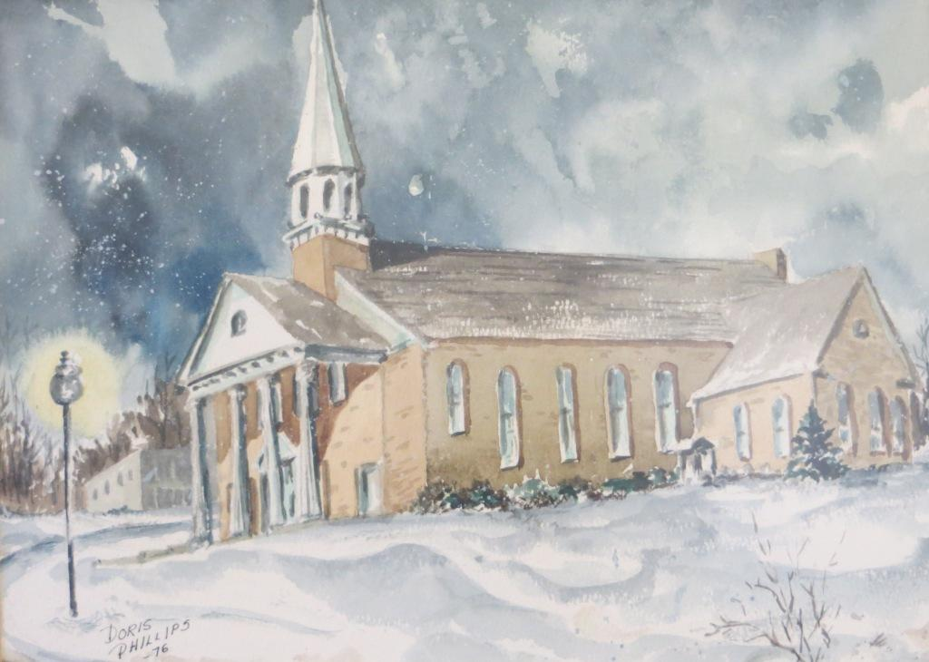 Arkansas College Brown Chapel in Snow