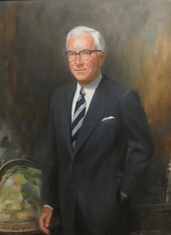 Shuford R. Nichols, longtime trustee and patriarch of the family that originated the Nichols travel program at Lyon.