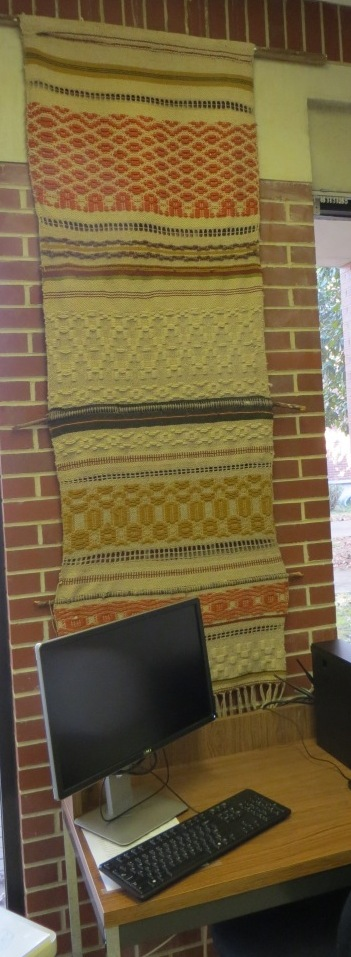 Woven Wall Hanging 1987 or Earlier