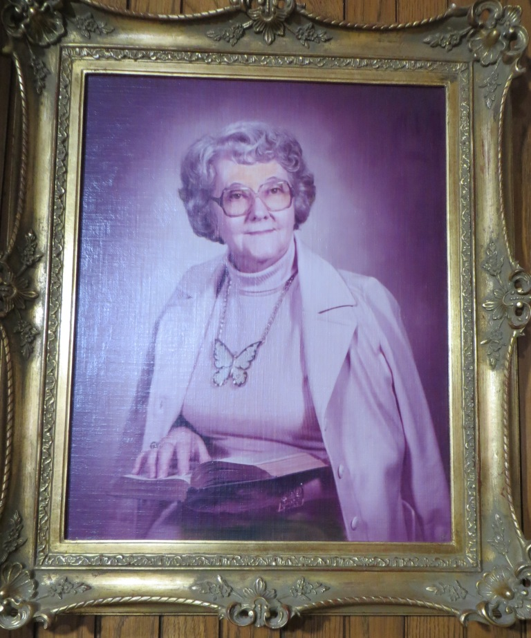 Portrait of Dorothy P. Sydenstricker  1977 Sydenstricker Room