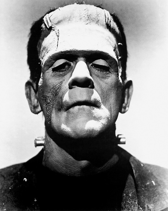 Boris Karloff as Frankenstein (1931)