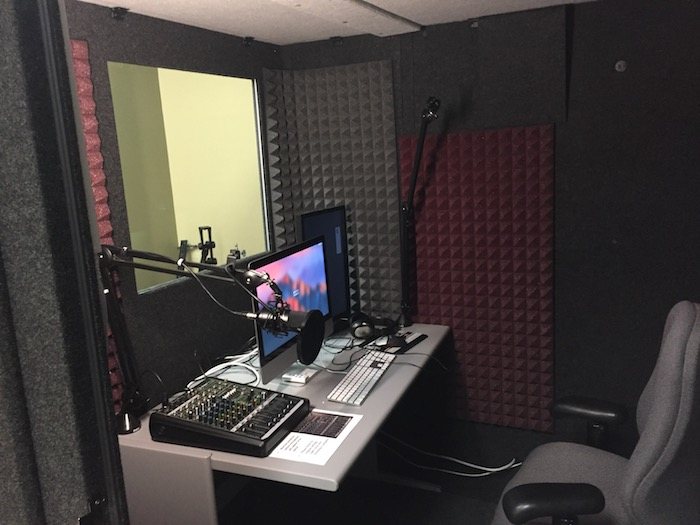 sound booth interior