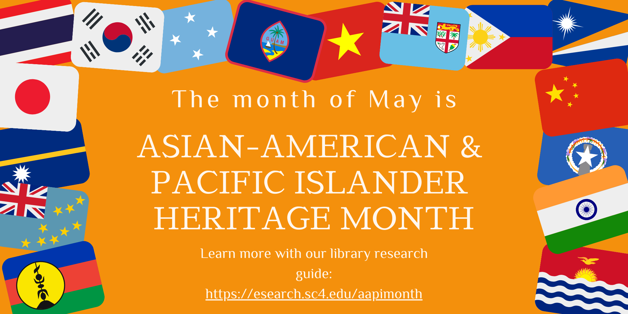 the month of may is asian american and pacific islander heritage month