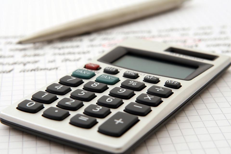 accounting, calculator