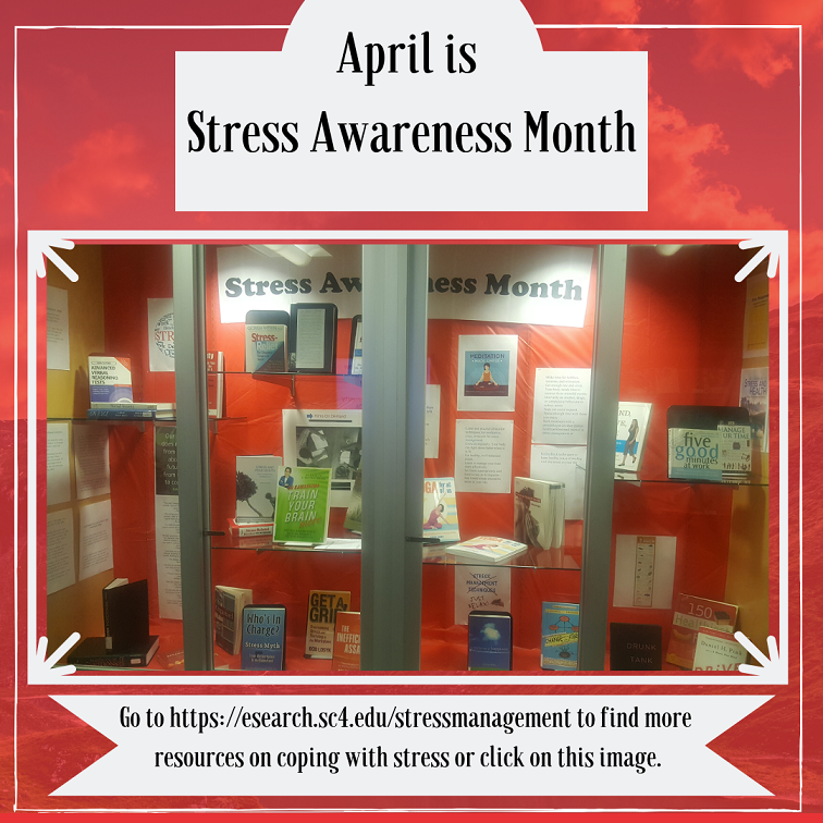 stress awareness month display