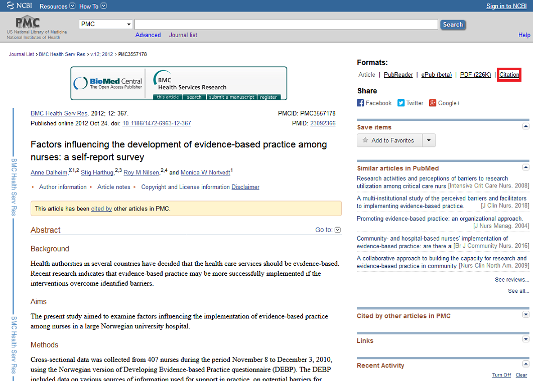 citation location pubmed