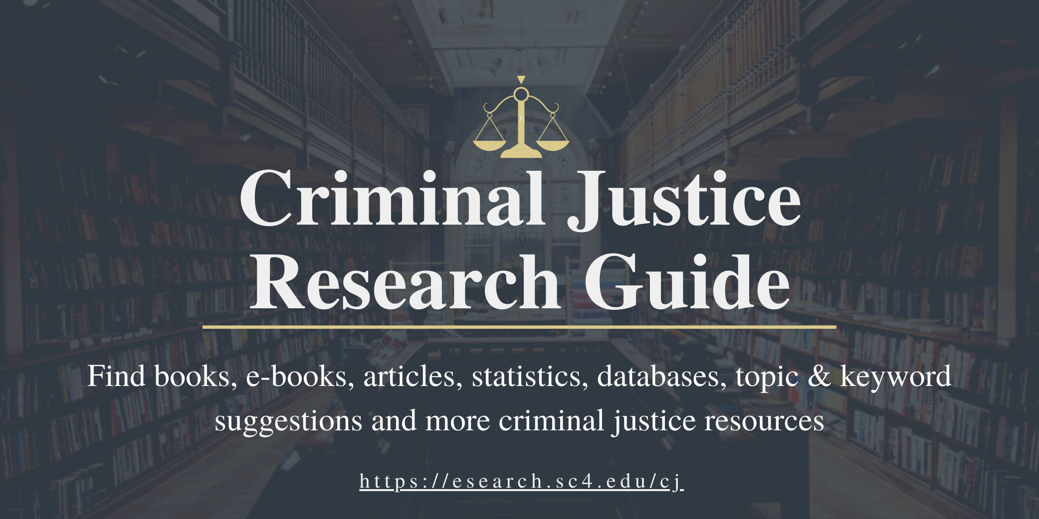 criminal justice research guide