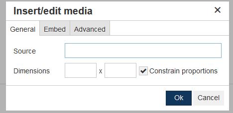 insert edit media