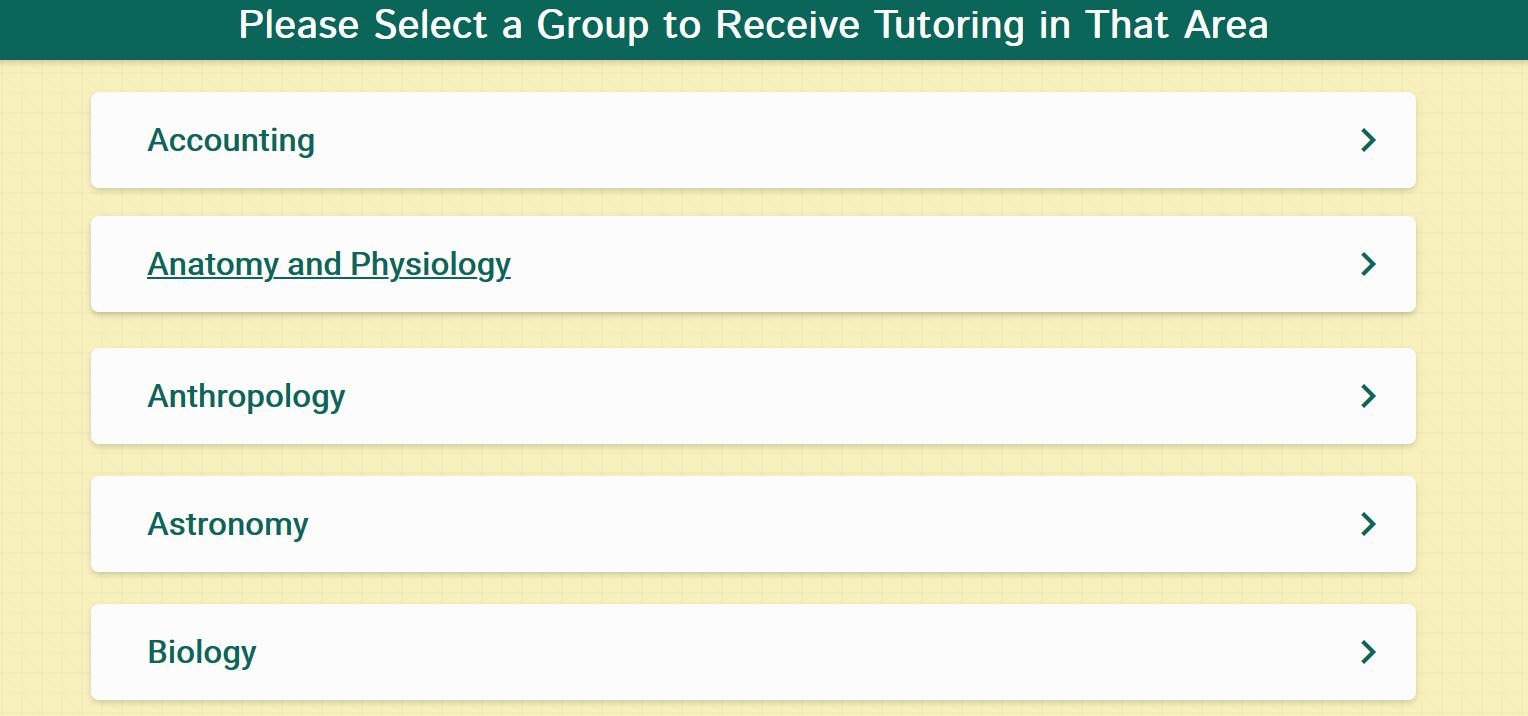 net tutor main page