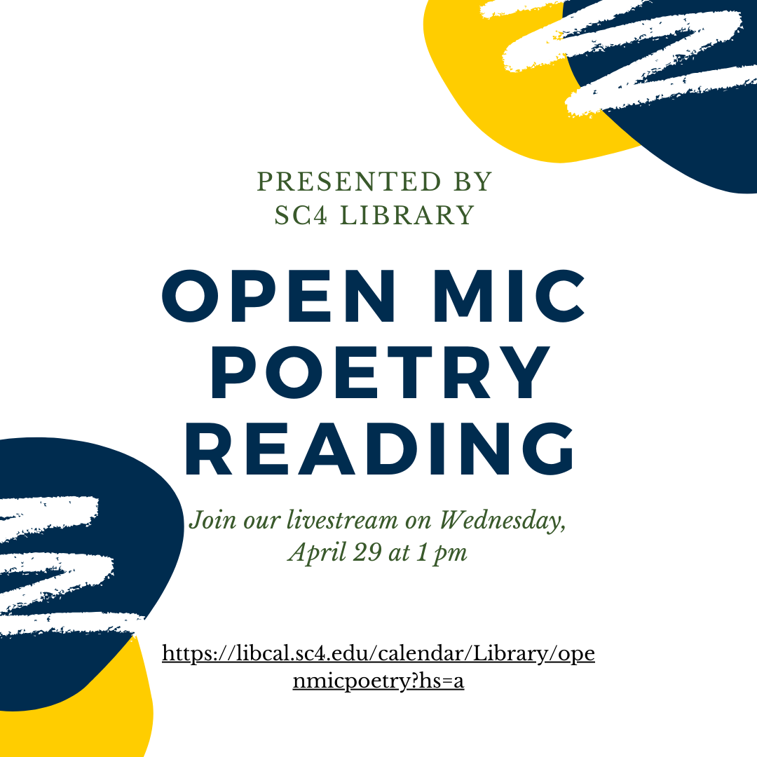 open mic poetry reading