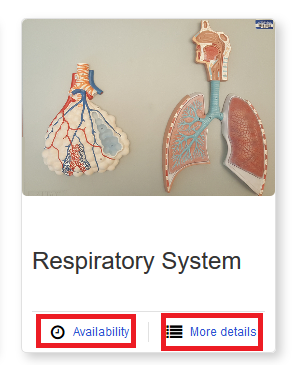respiratory system booking