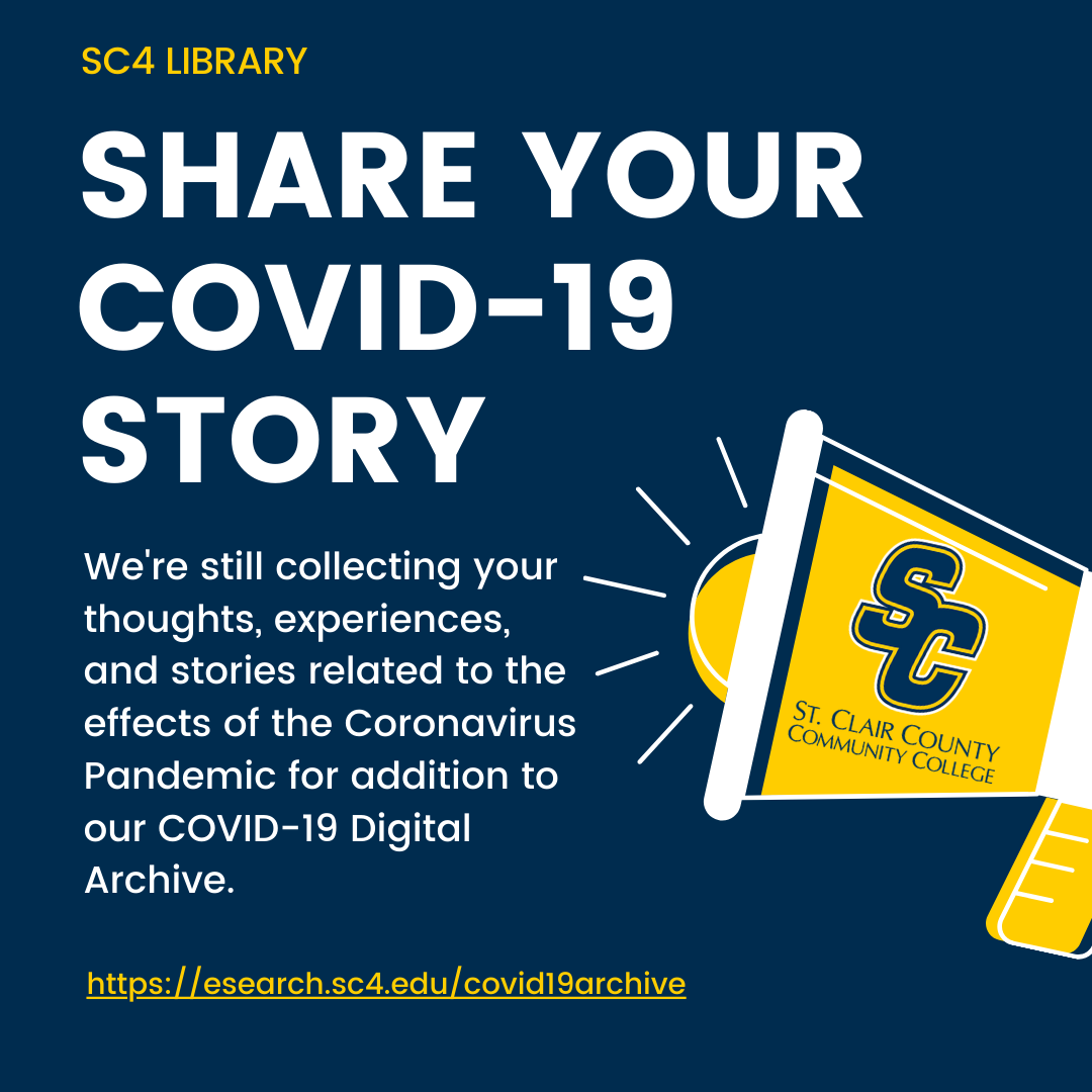 share your covid-19 story - we're still collecting your thoughts, experiences, and stories related to the coronavirus pandemic for addition to our covid-19 digital archive.