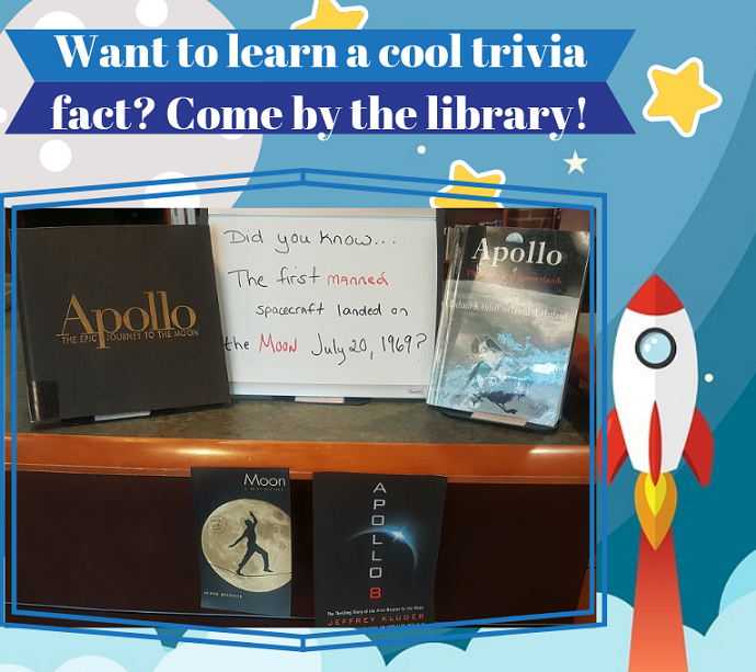 library trivia display