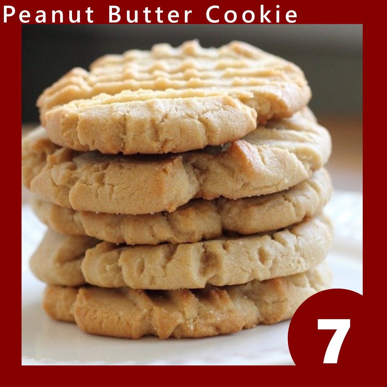 peanut butter cookie image