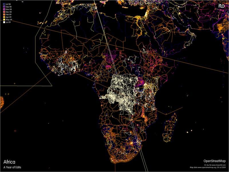 map of roads in Africa