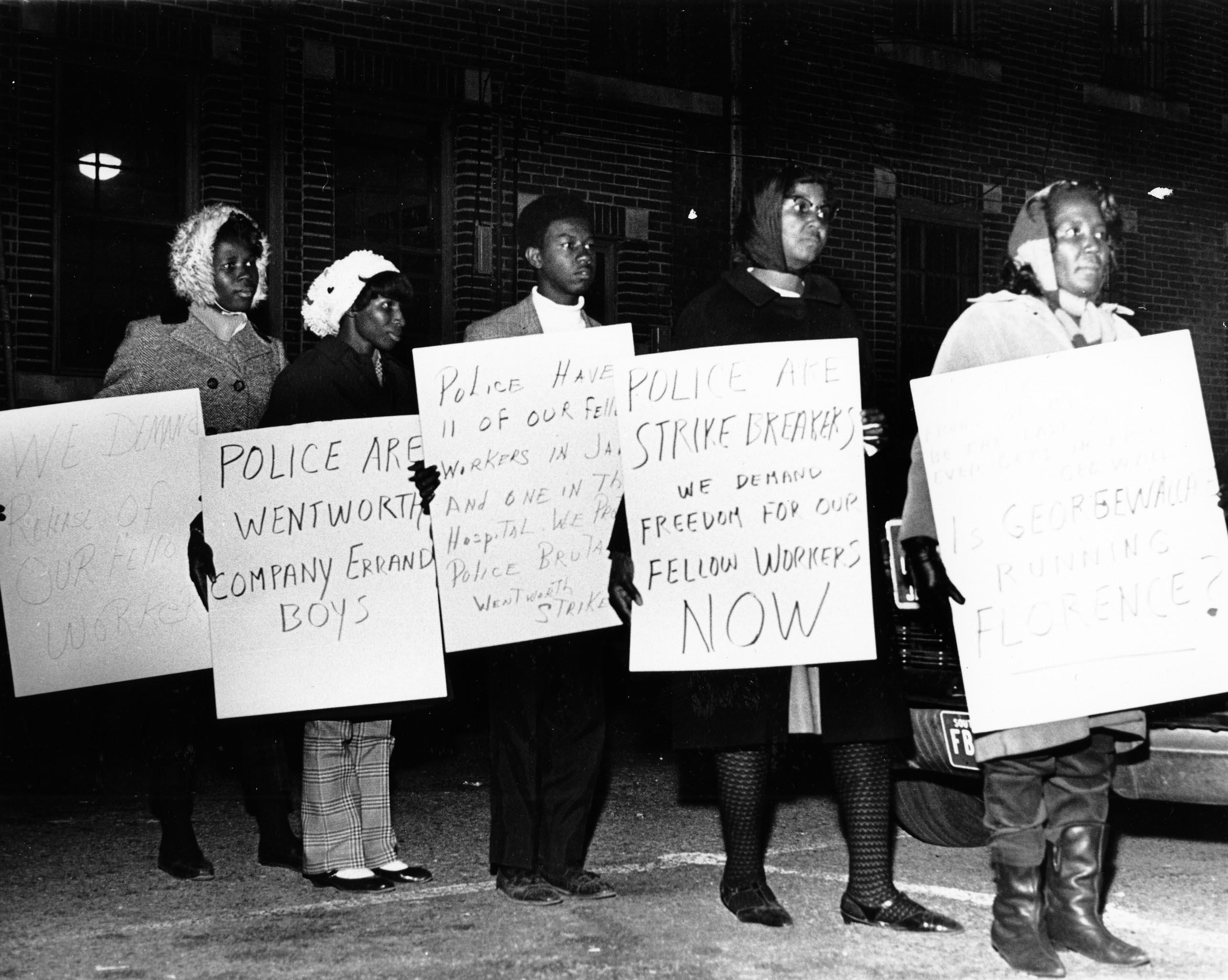 African American workers strike in 1968