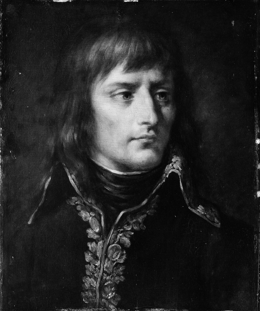 painting of Napoleon Bonaparte (1769-1821)