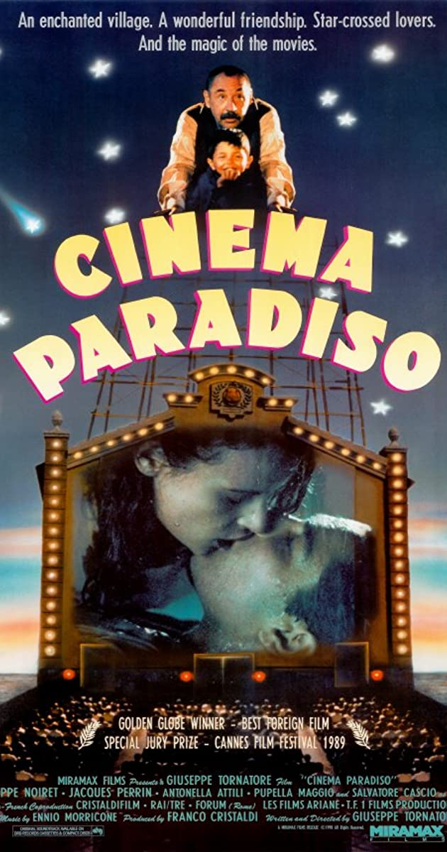 Image of the Cinema Paradiso film cover