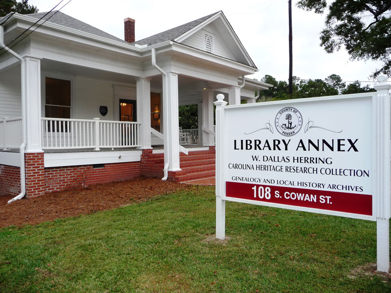 Carolina Heritage Collection Library Annex