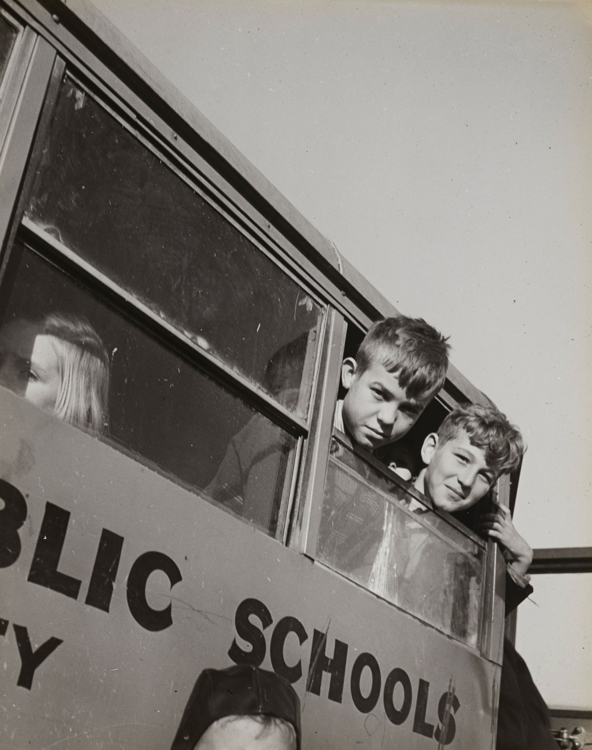 Walter Loeb on the school bus
