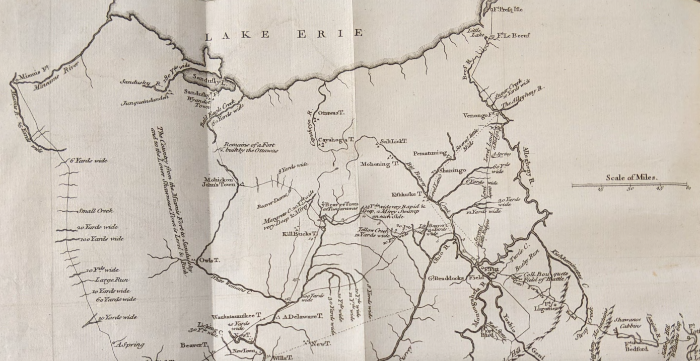 Sample map from Special Collections