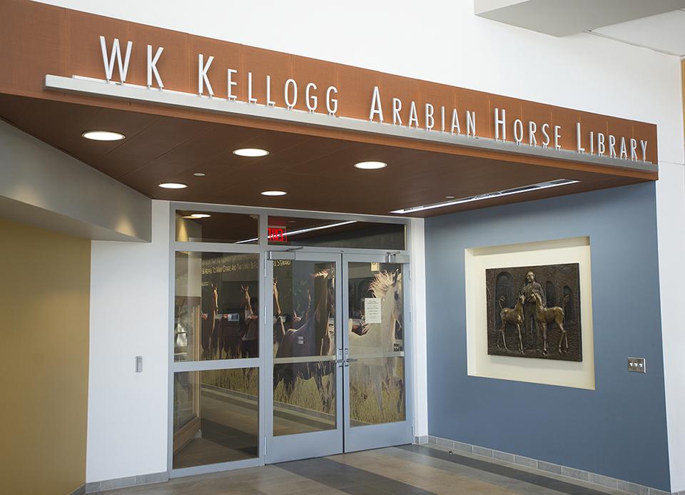 W.K. Kellogg Library front entrance