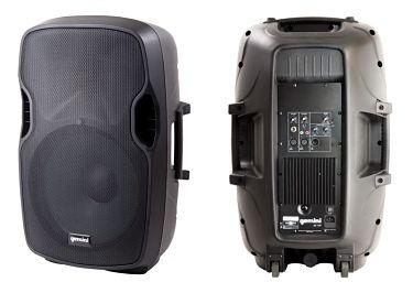 Speaker on wheels