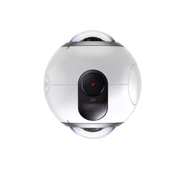 360 degreen camera (white, round shaped)