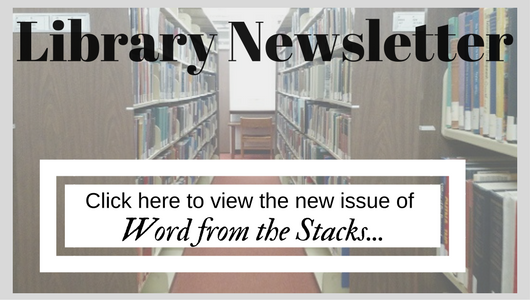 Library Newsletter - Fall 2018