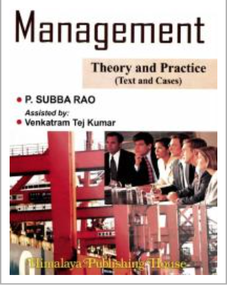 Management Theory and Practice by Subba Rao