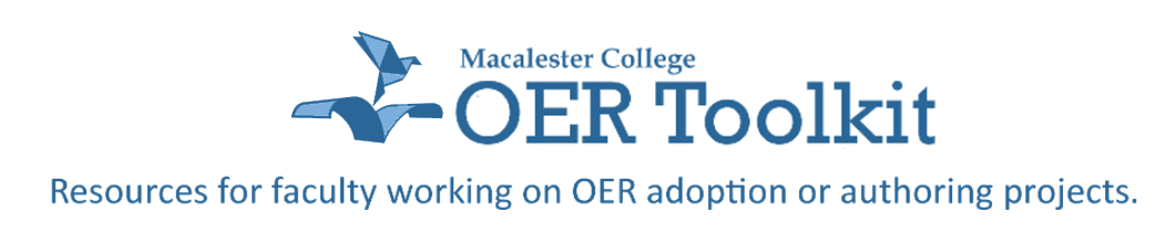 OER Toolkit Header