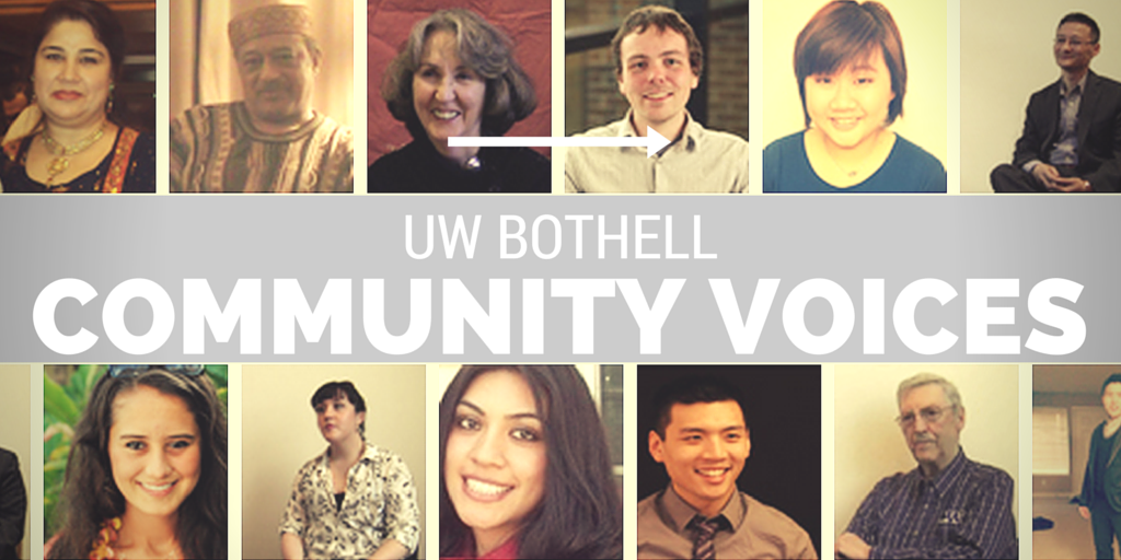 UW Bothell Community Voices Collection Graphic