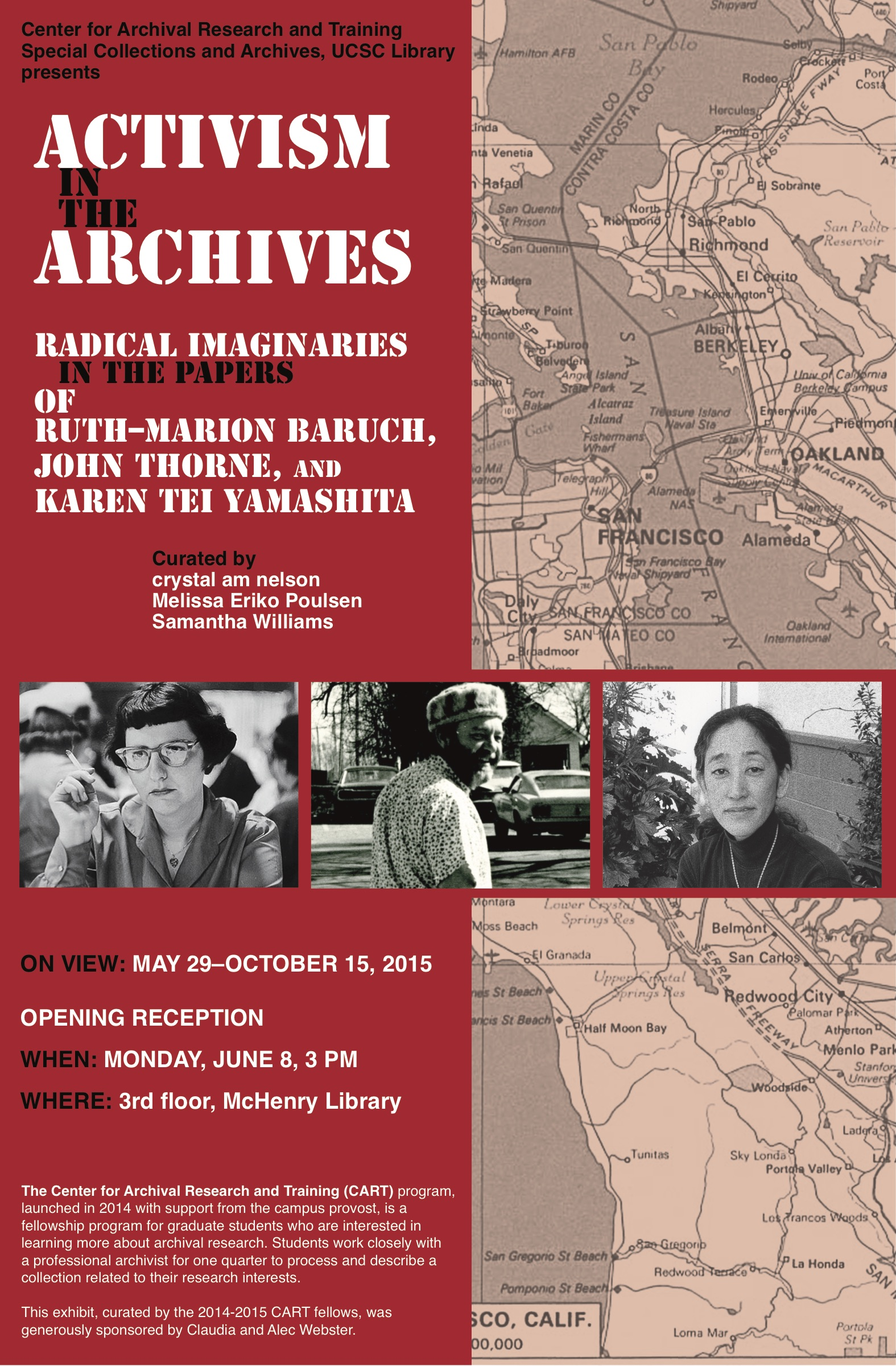 activism in the archives poster