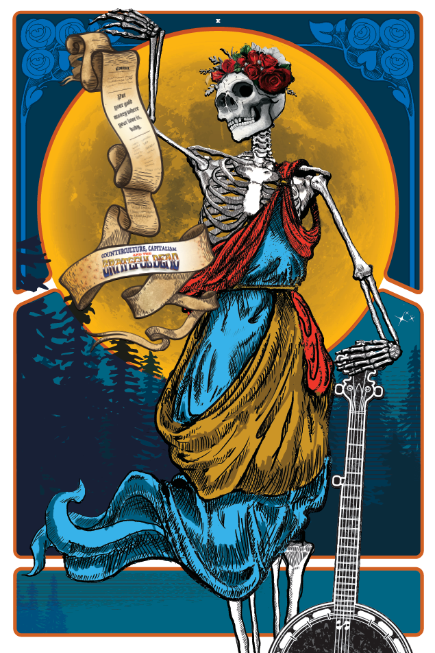 grateful dead exhibit poster