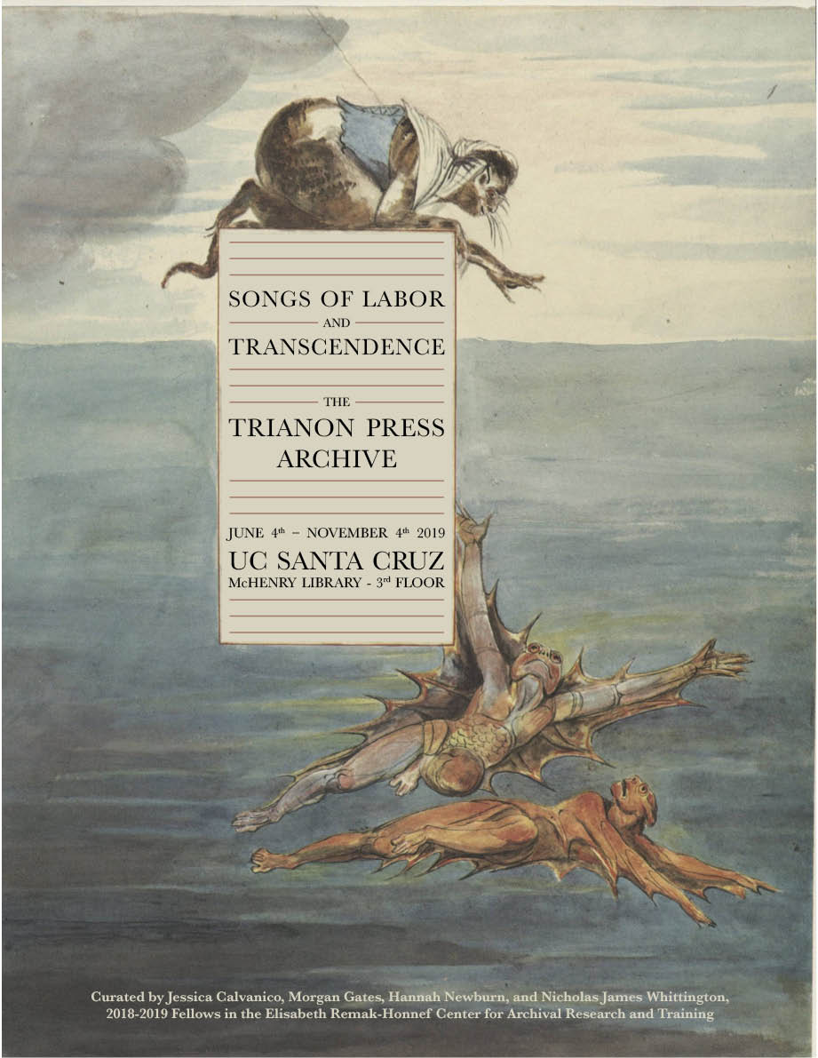 trianon exhibit poster