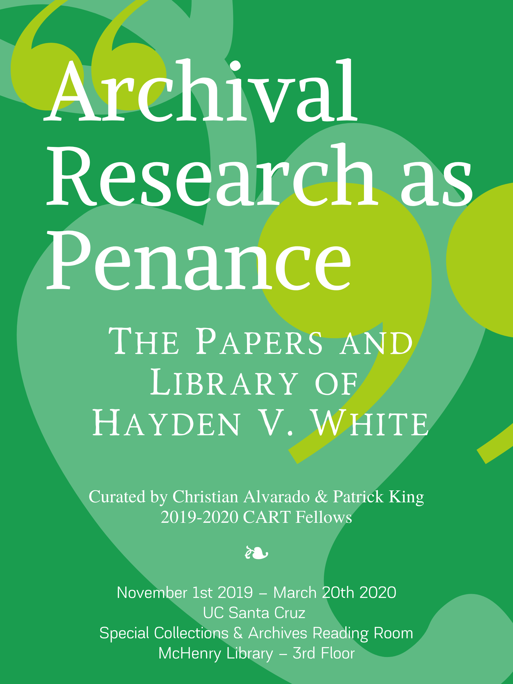 Archival Research as Penance