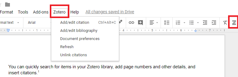 How to make a works cited page in google docs