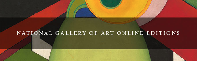 Image: screen shot of National Gallery of Art Online Editions home page