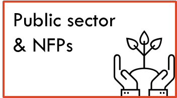 Public sector and NFPs