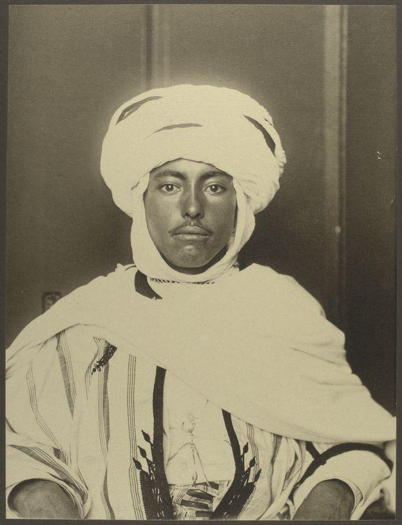Akgerian man at Ellis Island