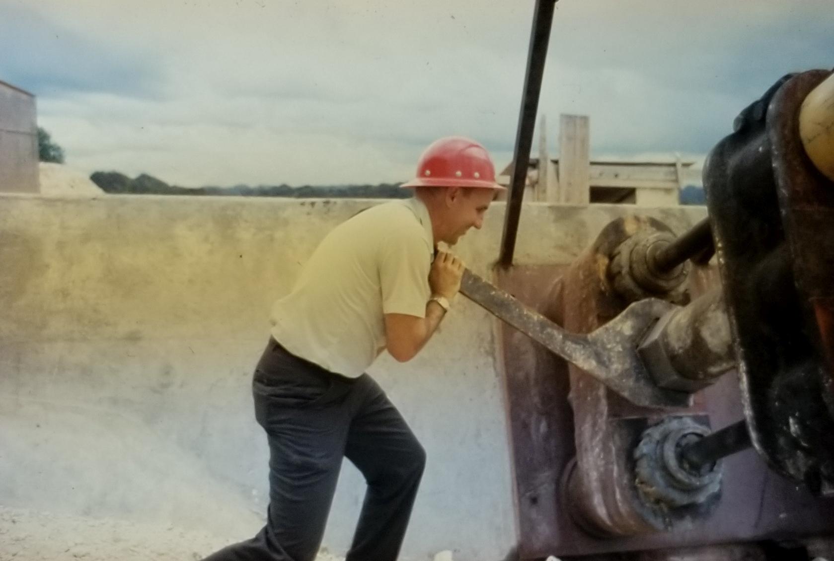 Dale Corson at Arecibo