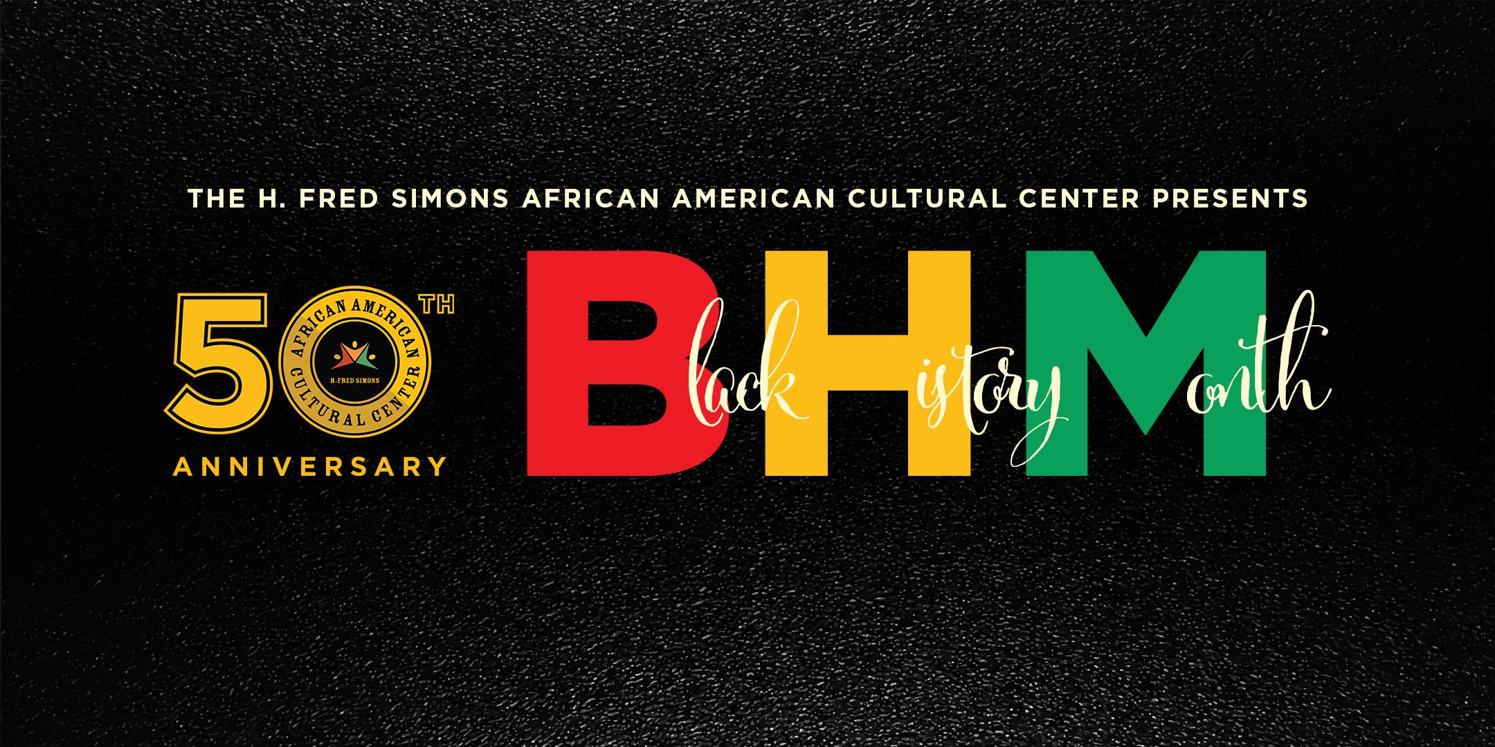 UConn African American Cultural Center Website Header Black History Month