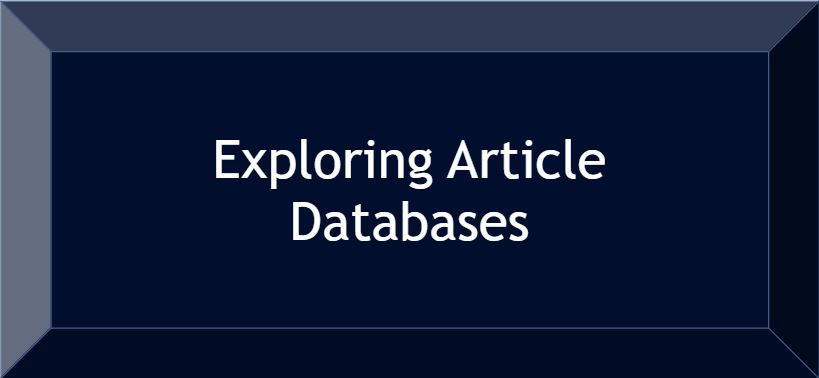 exploring article databases