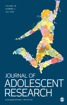journal cover for journal of adolescent research