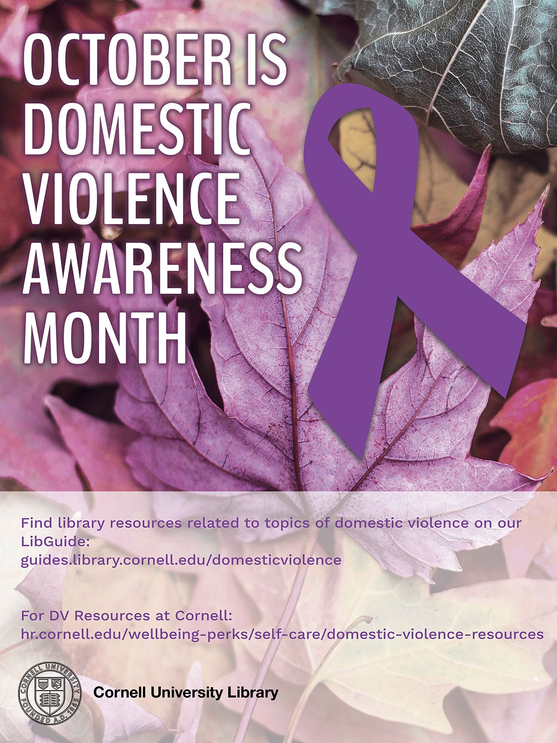 "Graphic for ""October is Domestic Violence Awareness Month"""