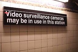 NYC Subway surveillance cameras