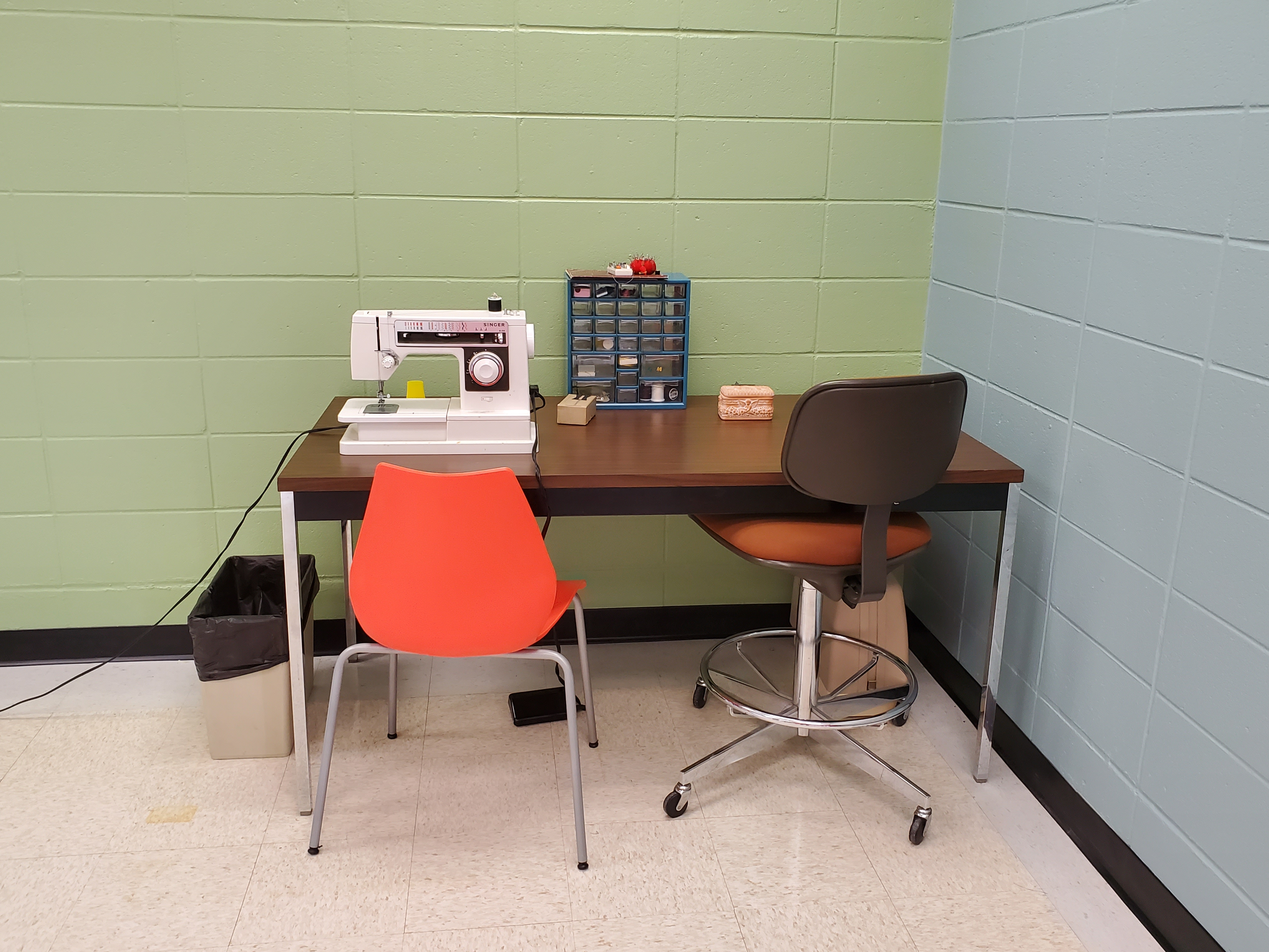 Image of sewing studio