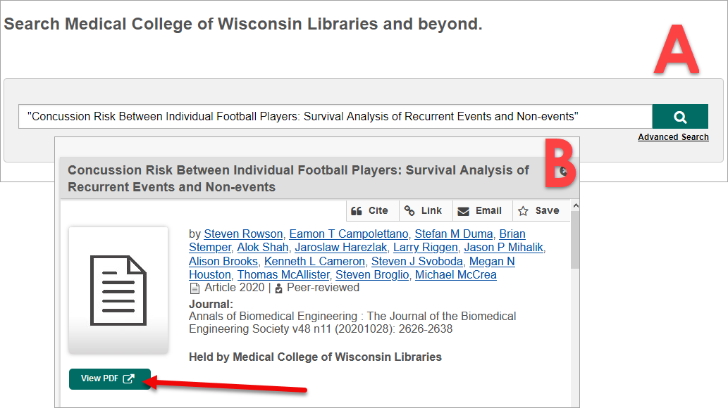 Library Catalog Title Search