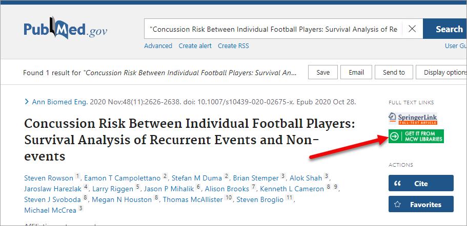 PubMed LinkOut Title Search