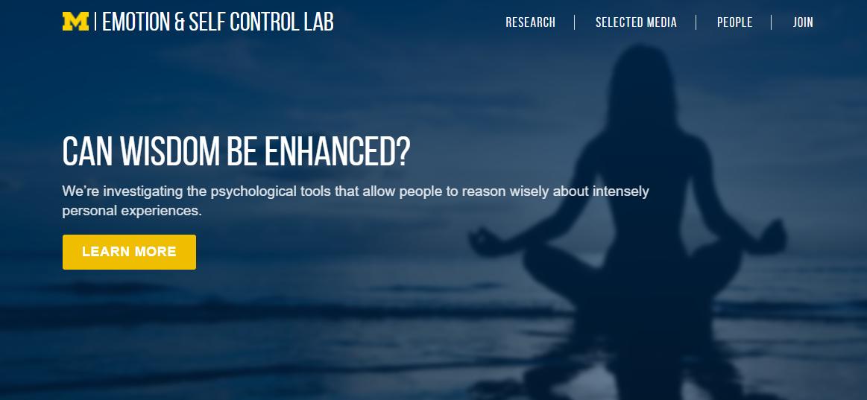 Emotion & Self Control Lab